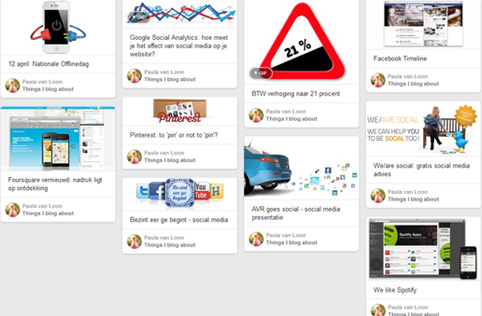 Communicatie - (web) teksten | blogs | social media